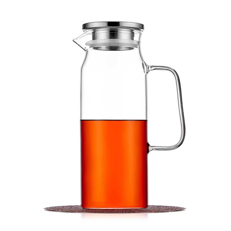 Чайники заварочные стеклянные Кувшин с фильтром в крышке 1,2 л, стеклянный для воды, сока и других напитков kuvshin-steklo-4-011-1200-teastar.jpg