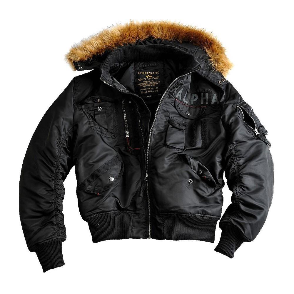 Куртка Мужская - Alpha Deflector (черная - black)