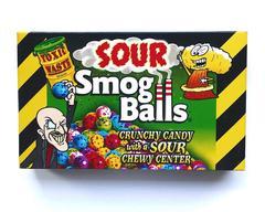 Кислые конфеты Toxic Sour Smog Balls 85 гр