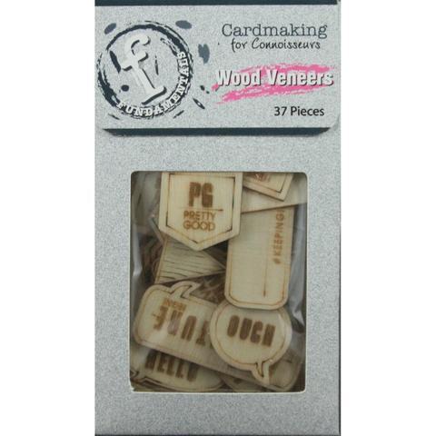 Деревянный чипборд Wood Veneers 37 элементов