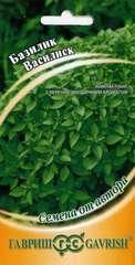 Купить семена Базилик Василиск 0,3 г по низкой цене, доставка почтой наложенным платежом по России, курьером по Москве - интернет-магазин АгроБум