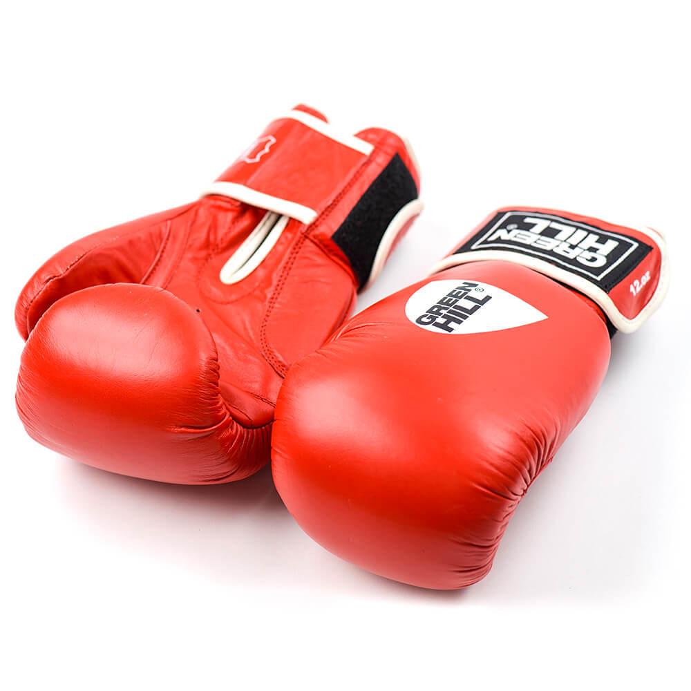 Перчатки Перчатки боксерские, кожа, GYM BGG-2018, Green Hill 258.jpg
