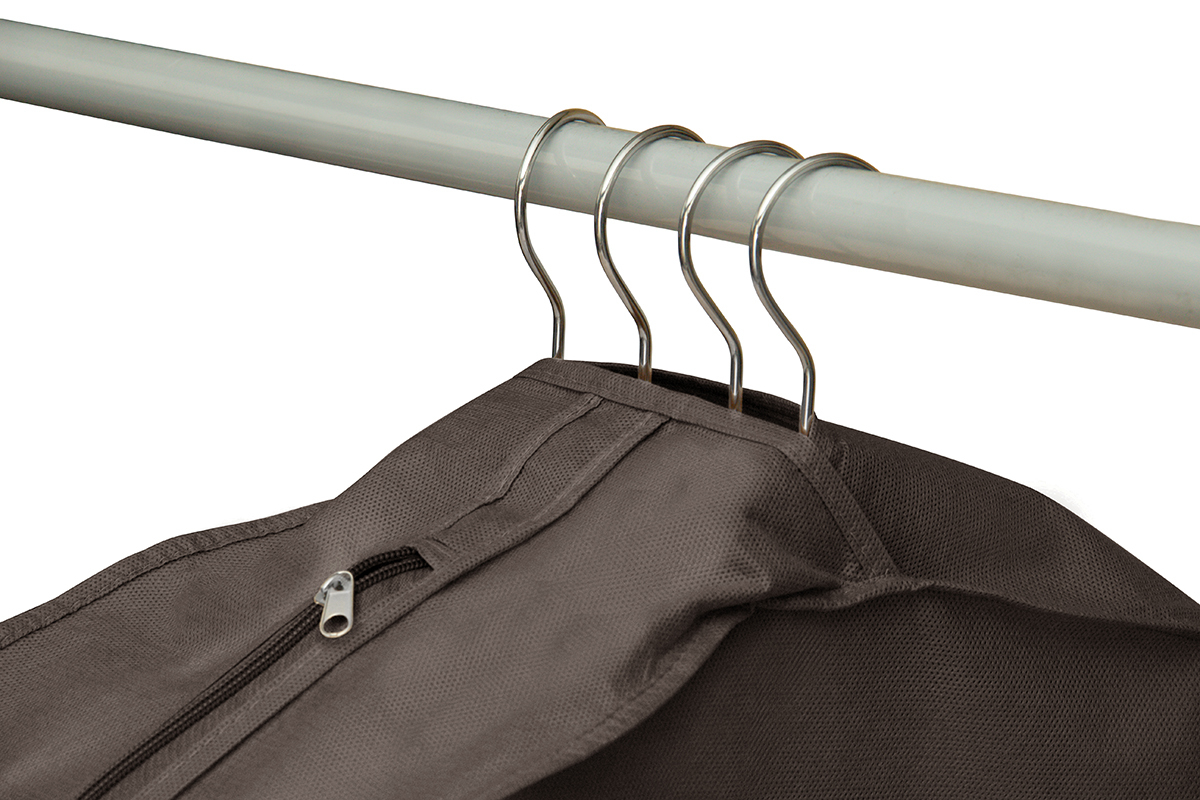 Чехол для одежды двойной длинный 130х60х20 см, Прага