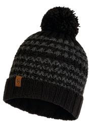 Шапка вязаная с флисом Buff Hat Knitted Polar Kostik Black