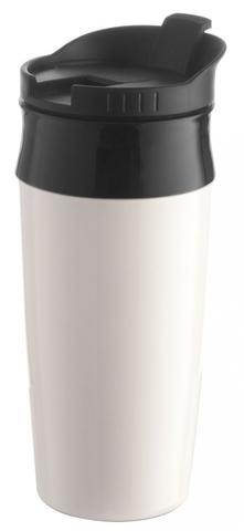Saturnia Travel Mug, white