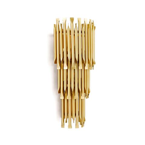 Настенный светильник копия Matheny by Delightfull (3 уровня, золотой)