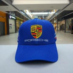 Кепка Порше синяя (Бейсболка Porsche)