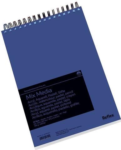 Альбом для смешанных техник Mix Media 300г/м2 21*29.7см 30л спираль по короткой стороне