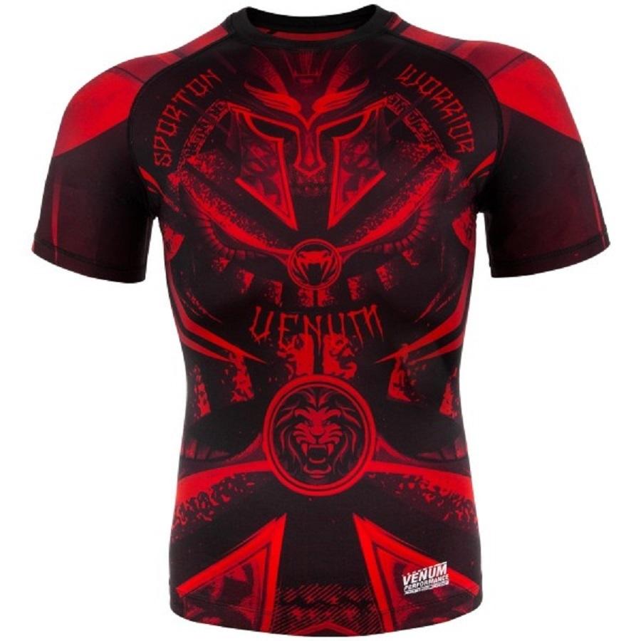 Термобелье/Рашгарды Рашгард Venum Gladiator 3.0 ShortSleeves Black/Red 1.jpg