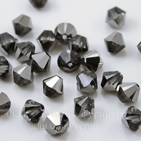 5328 Бусина - биконус Сваровски Crystal Silver Night 6 мм, 5 штук (large_import_files_c0_c02de301874e11e3bb78001e676f3543_990fa8e3c6a040308e68b56027d794e1)