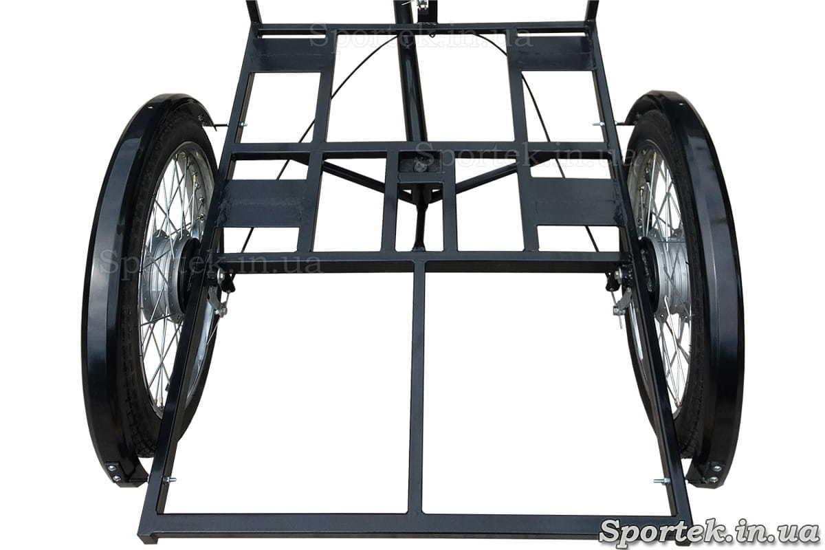 Передня панель на передню вантажну платформу у триколісного велосипеда 'Арден'