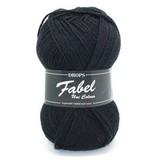 Пряжа Drops Fabel 400 черный