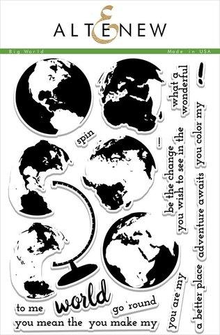 Набор штампов Big World Stamp Set