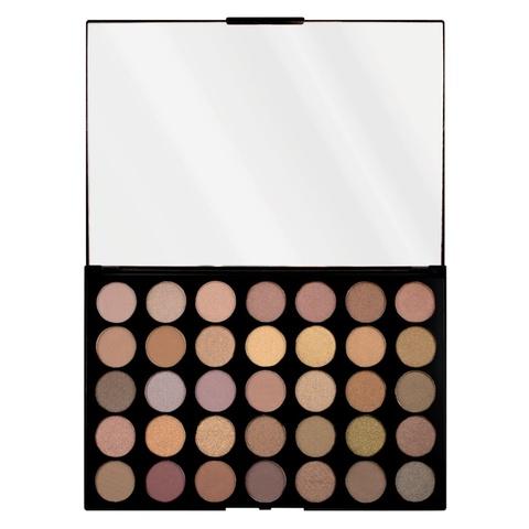 Палетка теней Makeup Revolution Pro HD Palette Amplified 35, Commitment