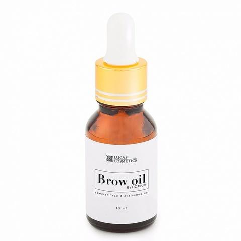 Масло Brow oil для бровей и ресниц, 15 мл