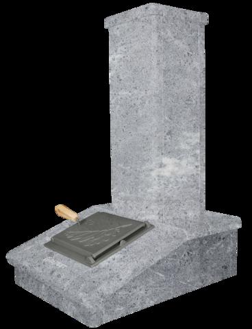 Облицовка на трубу Талькомагнезит, высота 790мм. ПБ-03/03-ЗК Президент, Русский пар, Гром 30/50