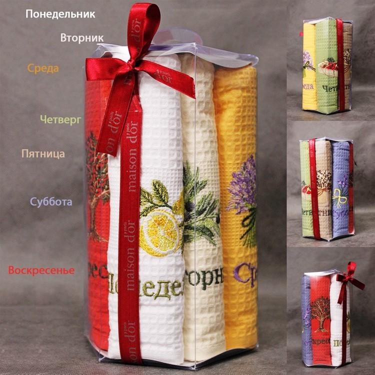 Кухонные полотенца Набор салфеток  SEVENDAY  СЭВЭНДЭЙ 50х70 Maison Dor (Турция) sevenday.jpg