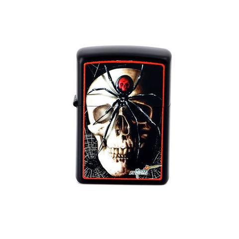 Зажигалка ZIPPO 28627 Mazzi Skull Spider