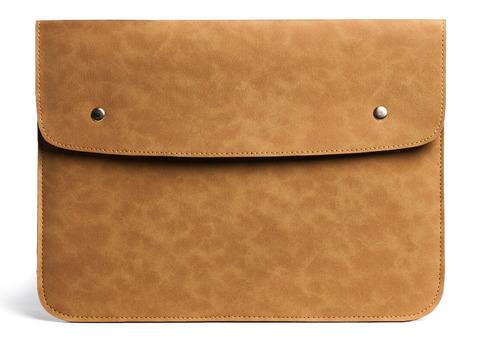 Светло-коричневый винтажный чехол Gmakin для Macbook