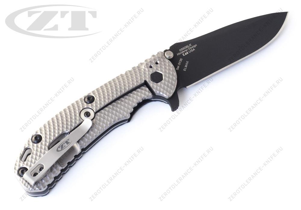 Нож Zero Tolerance 0560BLK 1st Hinderer - фотография