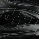 Сумка Саломея 203 черный + анаконда