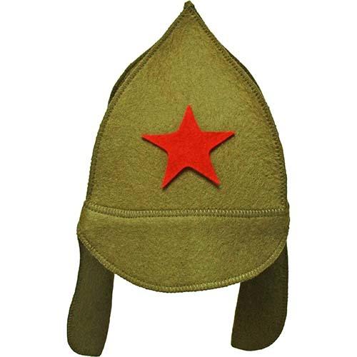 Фетровая шапка для бани