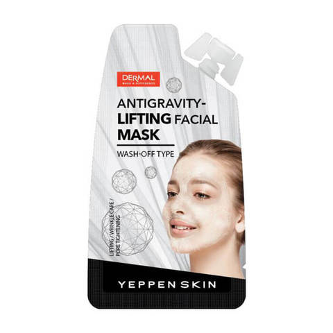 DERMAL Маска для лица ЛИФТИНГ YEPPEN SKIN ANTIGRAVITY-LIFTING FACIAL MASK 15гр
