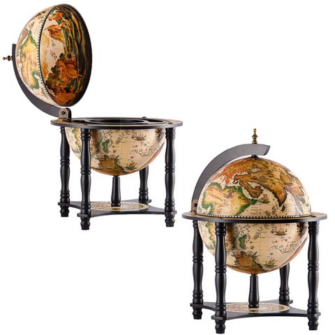 Глобус-бар настольный «Галилео»