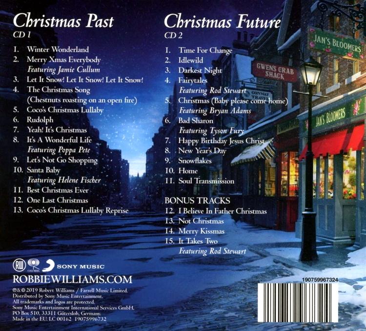 """Robbie Williams """"The Christmas Present (Deluxe Edition)"""" купить на аудио компакт-диске ..."""