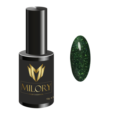 Milory, Гель-лак Crystal Collection №12, 10мл, Арт.:MLPCR6