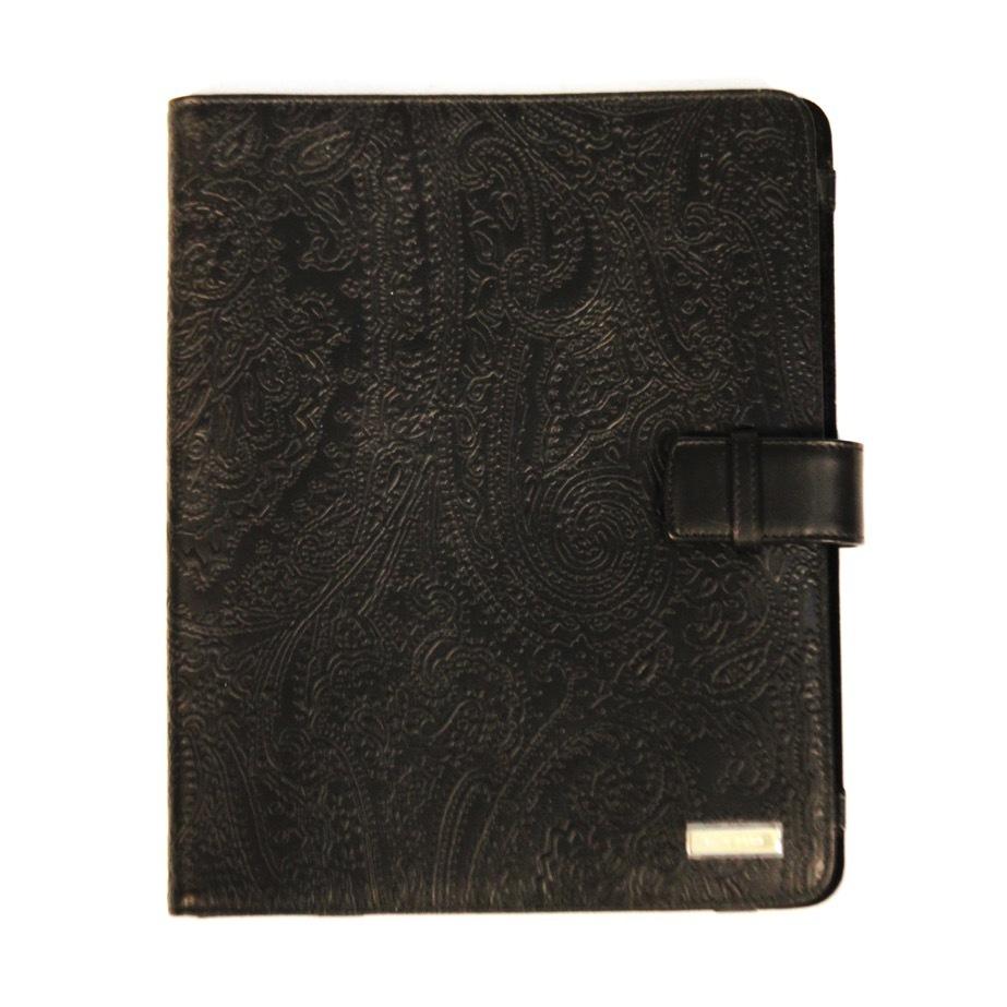 Чехол для iPad. Цвет коричневый/черный ETRO