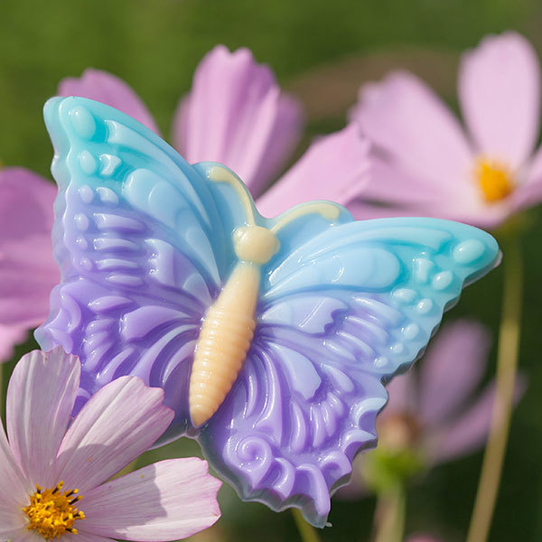 Пластиковая форма для мыловарения Бабочка