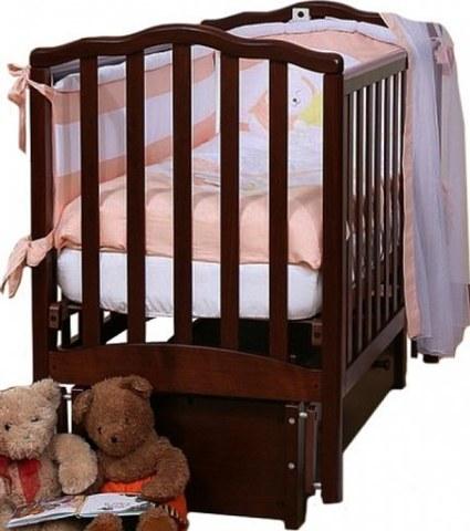 Кровать Лель АБ 19.3 Жасмин махагон