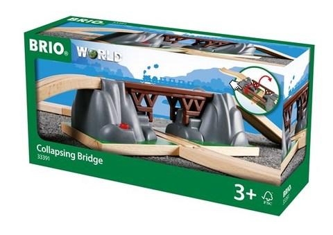 BRIO Мост в горах, длина 66.7см, 3 элемента