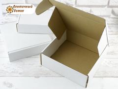 Коробка упаковочная белая № 2 (150*150*38 мм)