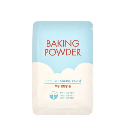 Etude House - Пенка для умывания Baking Powder Pore Cleansing Foam, 4 мл