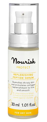 Защитная питательная сыворотка для сухой кожи, Nourish