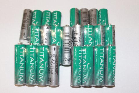 Батарейки Titanum R6, AA (4/40)