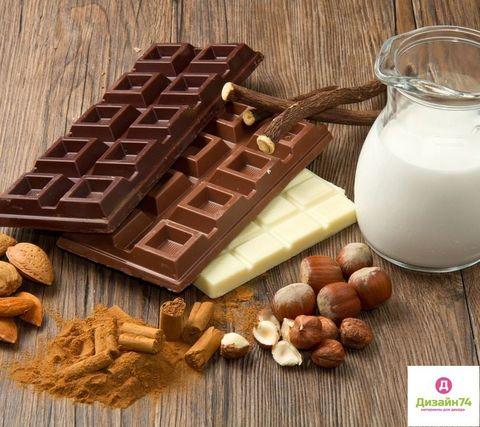 Молочный шоколад - отдушка косметическая, 10 мл.