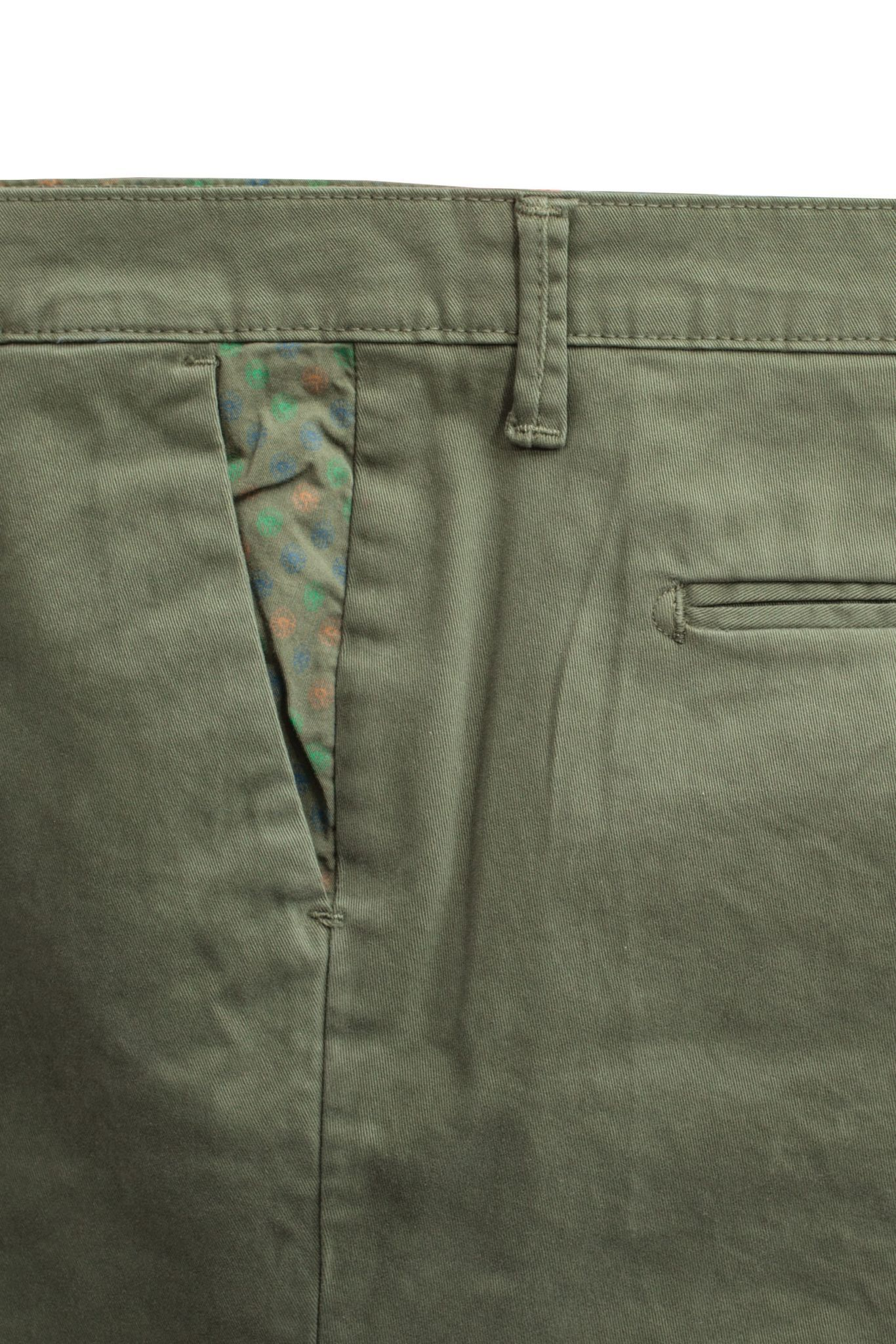 Хлопковые брюки чинос зауженного кроя