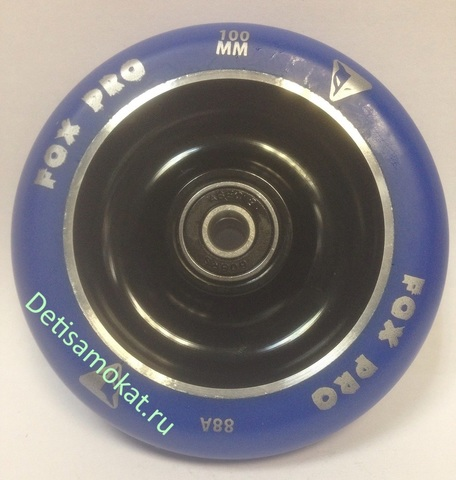 колеса +для трюкового самоката 100 мм