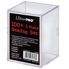 100+ Deck Box Transparent (UP)