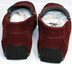 Туфли мужские мокасины IKOC 1555-3 Red.