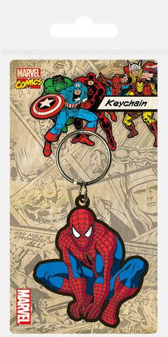 Брелок силиконовый Человек-Паук (Силуэт)
