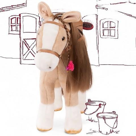 Gotz. Лошадь бежевая с расческой