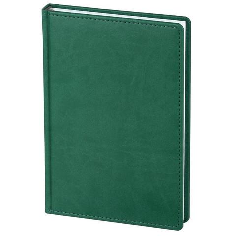 Ежедневник недатированный Attache Сиам искусственная кожа А5 176 листов зеленый (143x210 мм)