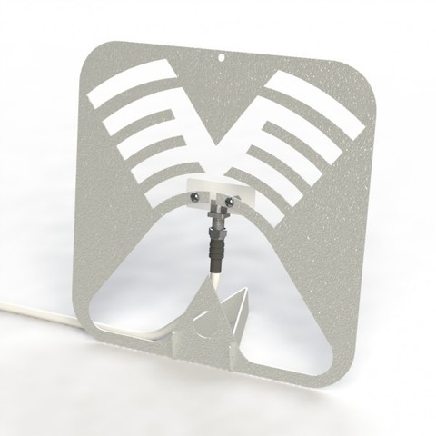 CIFRA-4 - комнатная двунаправленная антенна с усилением до 4 dBi