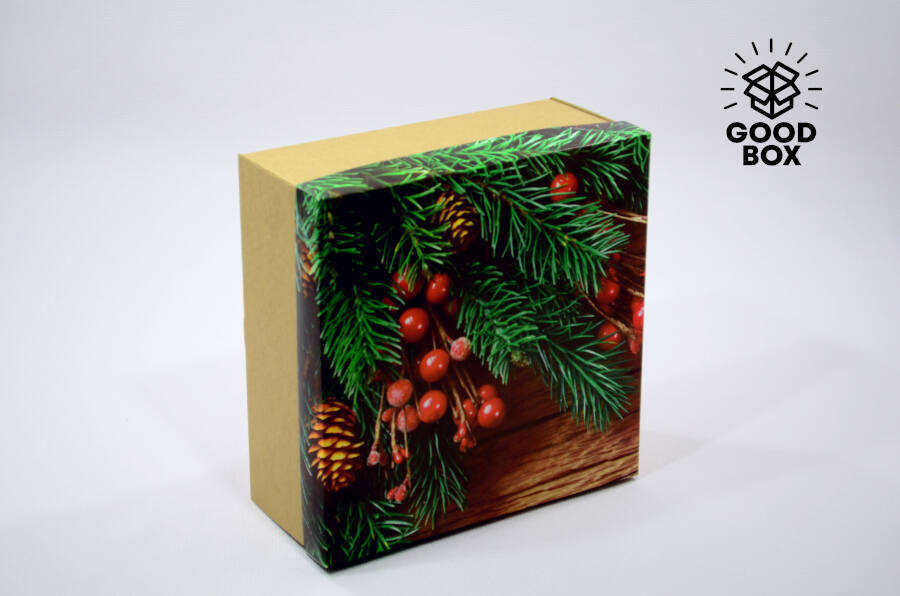 Крутые новогодние коробки купить Алматы