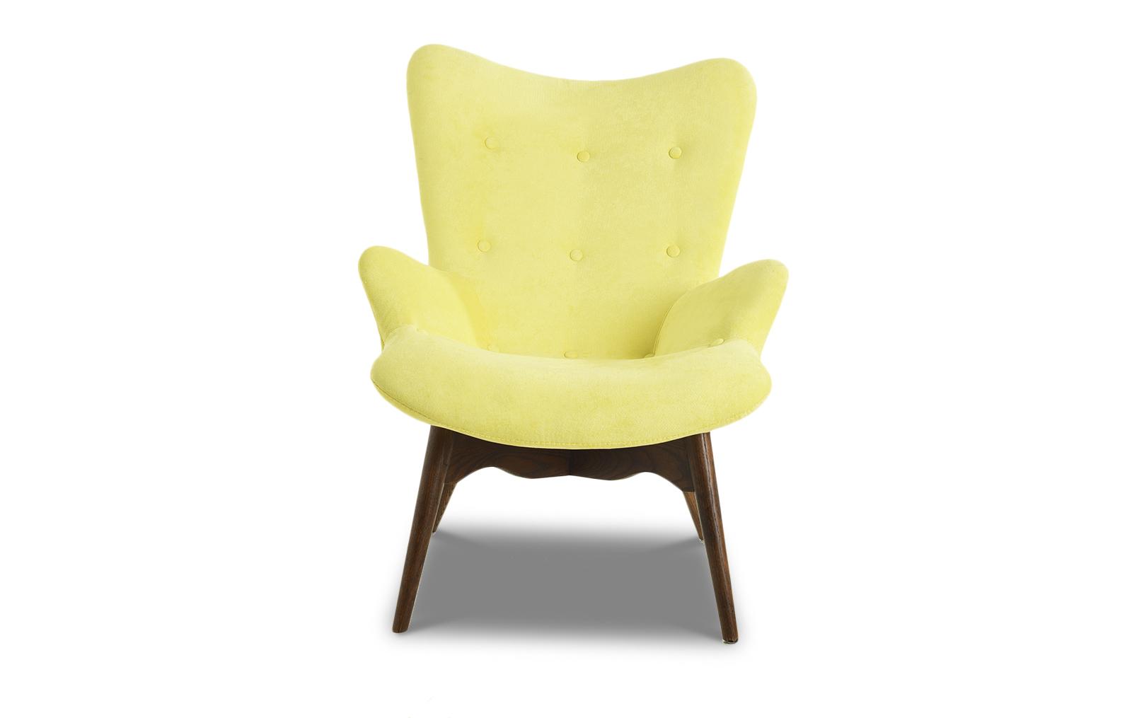 Кресло DC917 yellow-lemon