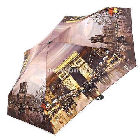 Зонт автомат женский легкий Lamberti триумфальная арка Парижа